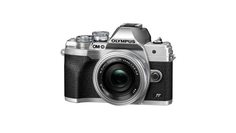 Olympus OM-D E-M10 Mark IV Digital Camera with 14-42mm lens – Silver