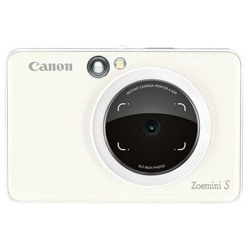 canon zoemini s pearl white front 1