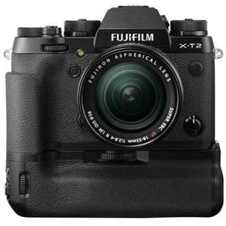Fuji X-T2 Digital Camera with 18-55mm Lens and Power Booster Grip