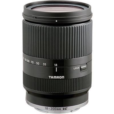 Tamron 18-200mm f3.5-6.3 Di-III VC Black Lens - Sony E-Mount Fit