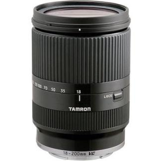 Tamron 18-200mm f3.5-6.3 Di-III VC Black Lens - Sony E-Mount Fit