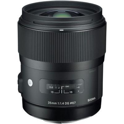 Sigma 35mm f1.4 DG HSM A Lens