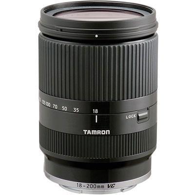 Tamron 18-200mm f3.5-6.3 Di-III VC Black Lens - Canon M-Mount Fit