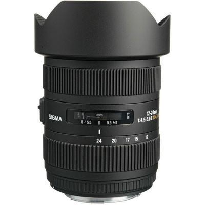 Sigma 12-24mm f/4.5-5.6 DG HSM II Lens