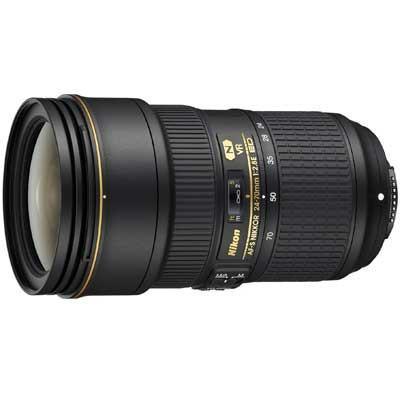 Nikon 24-70mm f2.8E AF-S ED VR Lens