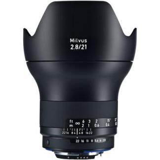 Zeiss 21mm f2.8 Milvus ZF.2 Lens