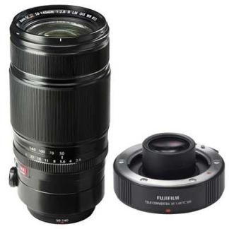 Fuji XF 50-140mm f2.8 WR OIS Lens with Fuji 1.4X XF TC WR Teleconverter