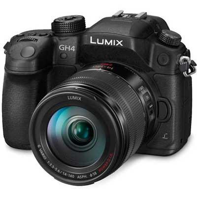 Panasonic LUMIX DMC-GH4R Digital Camera with 14-140mm Lens