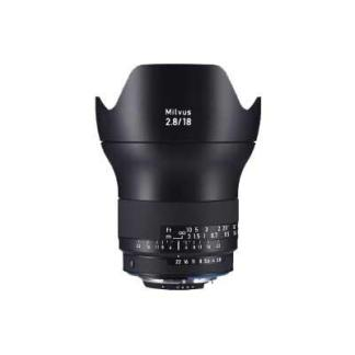 Zeiss 18mm f2.8 Milvus ZE Lens
