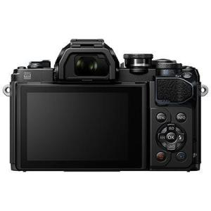 Olympus OM-D E-M10 Mark III Digital Camera with 14-42mm EZ Lens and 40-150mm R Lens - Black
