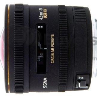Sigma 4.5mm F2.8 EX DC HSM Circular Fisheye Lens