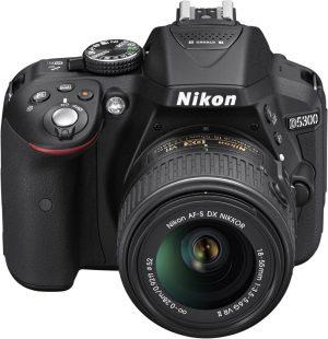 Nikon D5300 Digital SLR in Black + Nikon 18-55mm VR II Lens