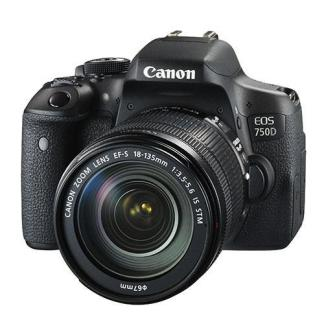 Canon EOS 750D Digital SLR + Canon 18-135mm IS STM Lens