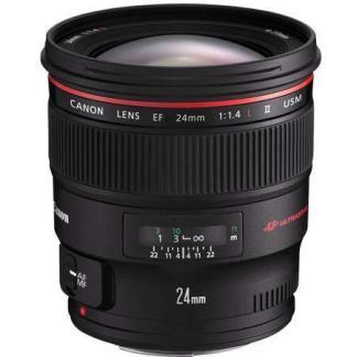 Canon EF 24mm f1.4L MKII USM Lens