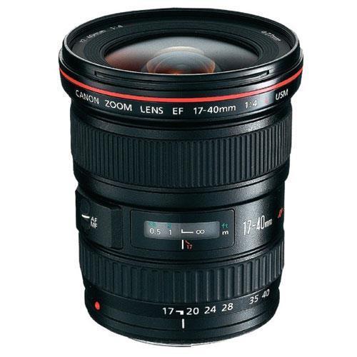 Canon EF 17-40mm F4 L Lens