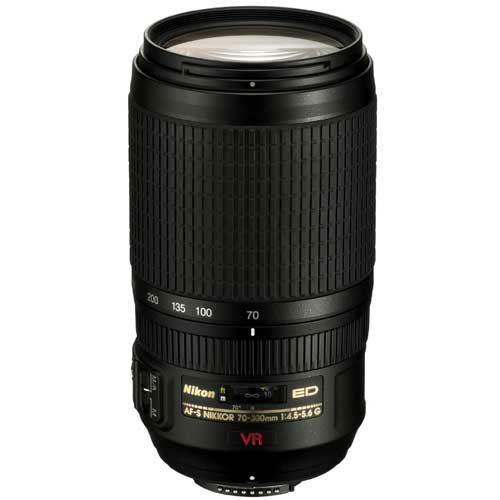 Nikon AF-S VR 70-300mm f/4.5-5.6G IF-ED Lens