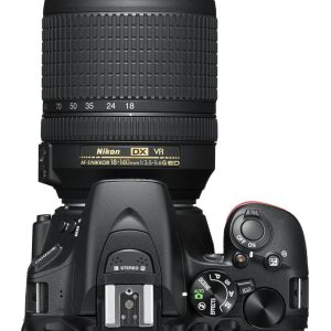 Nikon D5600 Digital SLR + 18-140mm f/3.5-5.6 G ED VR Lens