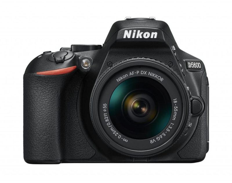 Nikon D5600 Digital SLR + 18-55mm f/3.5-5.6 AF-P VR Lens