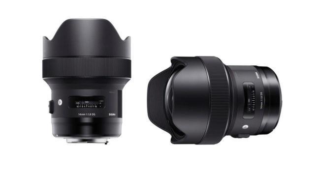Sigma 14MM F1.8 DG HSM   A Nikon & Canon fit.