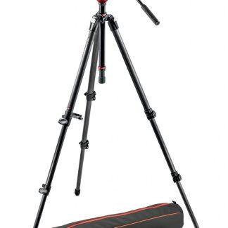 Manfrotto - Lightweight fluid video system / carbon legs / MDeVe