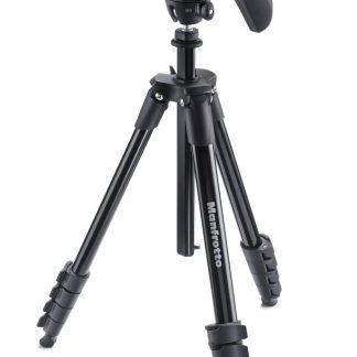 Manfrotto - Compact Action Black Tripod