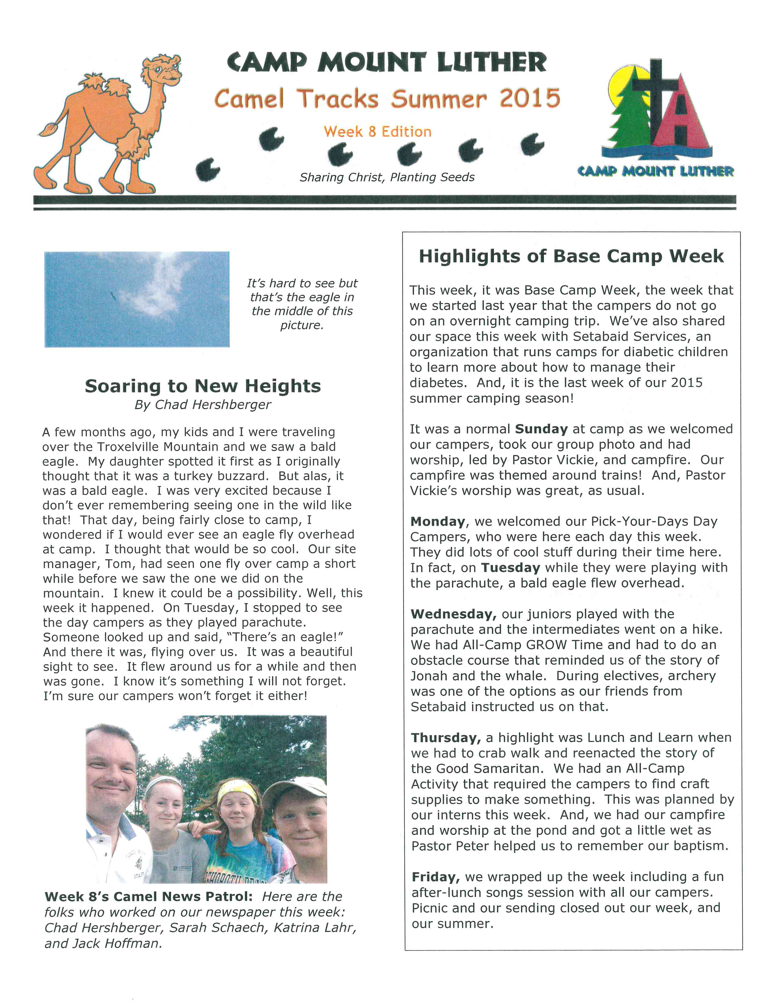 Newsletter | MOUNT LUTHER