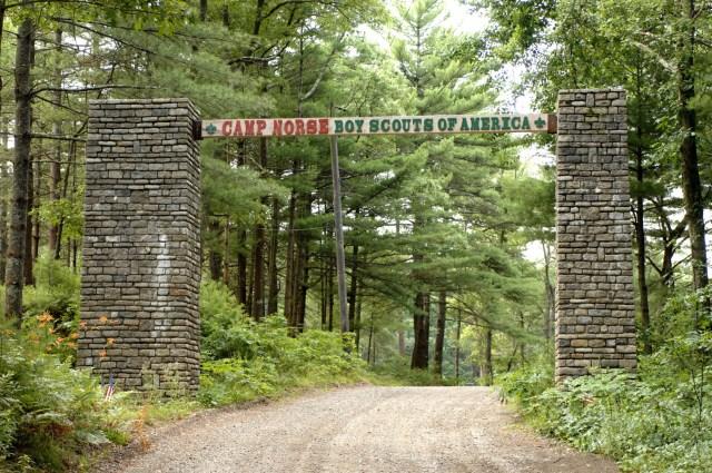Camp Norse Entrance