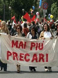 I precari scendono in piazza:  Manifestazione regionale ad ottobre