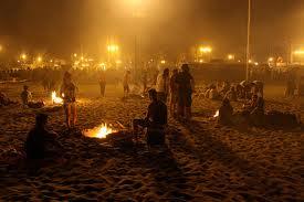 Vietati i falò, il campeggio e il pernottamento sulle spiagge