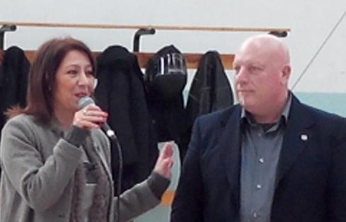 Assessore Toscano e Gino Vitrano