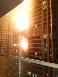 Torch Tower Dubai Marina in fiamme: danni ingenti, residenti evacuati