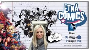 Locandina Emanuela Lupacchino ad Etna Comics 2015