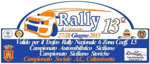 logo Rally Caltanissetta 2015