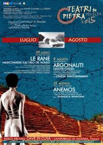 locandina Teatri di pietra Campobello