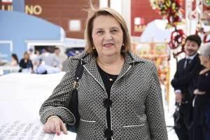 Il magistrato Silvana Saguto al No Mafia Day a Expo Milano 2015, 23 maggio 2015.  ANSA/STEFANO PORTA