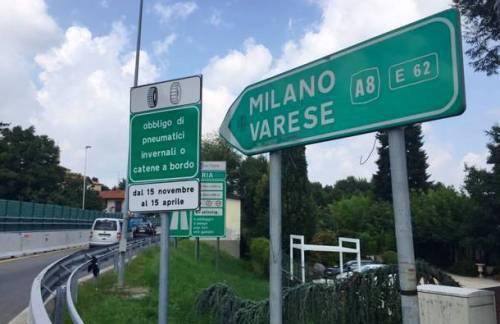 [A8 MILANO-VARESE] Martedì mattina chiusa l'entrata di Lago di Varese