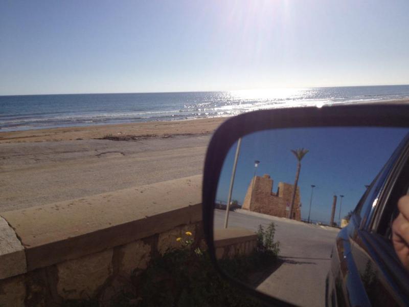 foto specchio auto