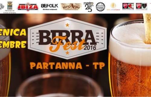 """Partanna, arriva """"Birra Fest 2016"""""""