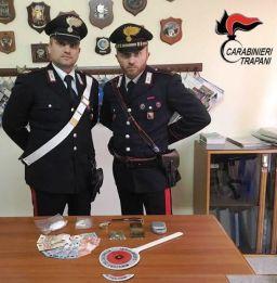 cc-chiappara CASTELLAMMARE DEL GOLFO: ARRESTATO DAI CARABINIERI SPACCIATORE