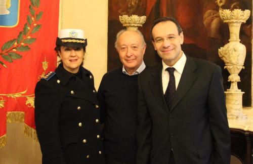 Marsala, Incontro al Palazzo Municipale fra il sindaco ed il nuovo dirigente del commissariato di PS