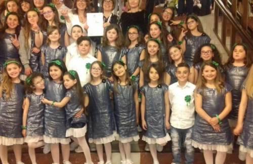 Castelvetrano, Premiazione in Comune del Coro Do-Re-Mi