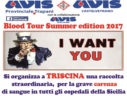 [AVIS] Blood Tour Summer Edition 2017 a Triscina di Castelvetrano