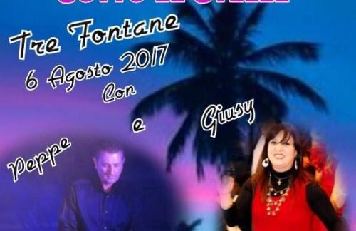 """L'Oscar della musica con Peppe e Giusy e """"The Mambo King's"""", il 6 agosto, a Tre Fontane"""