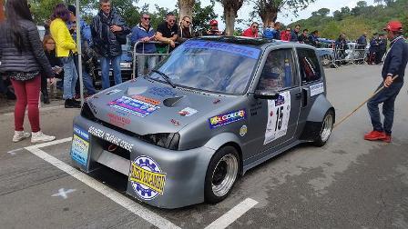 [MOTORI] Il mazarese Girolamo Ingardia, ha vinto su Fiat Cinquecento, la prima edizione dello Slalom Cefalù Corse