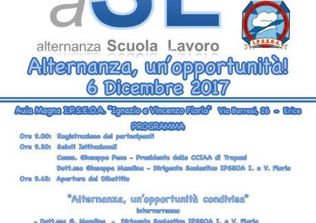 """Camera di Commercio] Trapani. Evento: """"Alternanza, un'opportunità"""""""