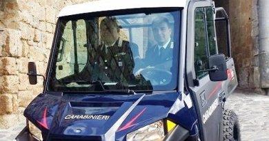 In dotazione ai Carabinieri un nuovo veicolo ad hoc per la sicurezza di Civita