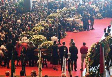 Crollo ponte Genova, i funerali di Stato