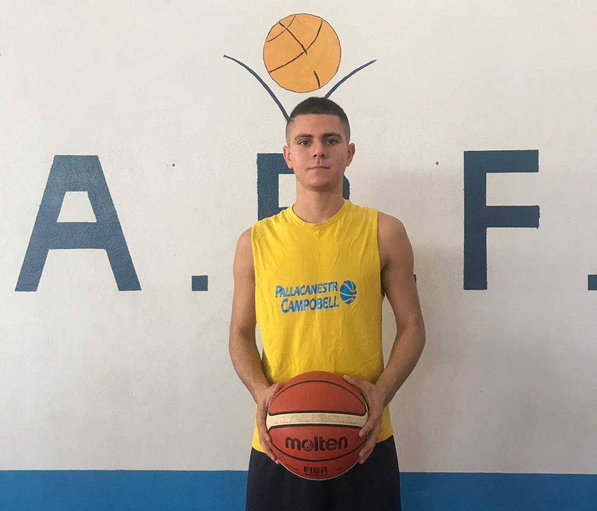 Pallacanestro Campobello: Andrea Grigoli in prestito all'Academy Basket Fidenza