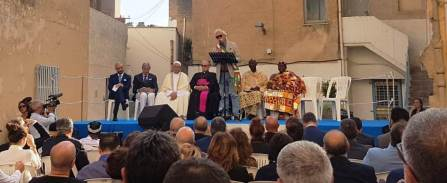 L'intervento del Sindaco Cristaldi alla preghiera per la pace fra i popoli