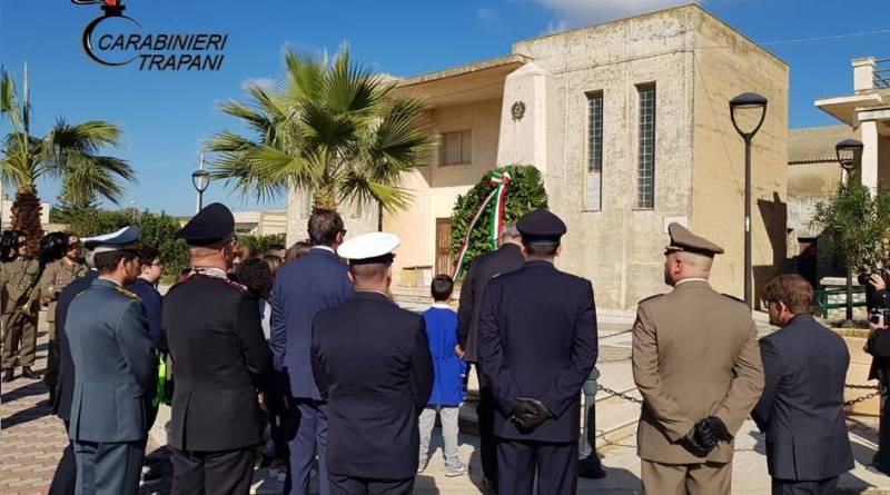 Trapani. Cerimonia in ricordo delle vittime di Nassiriya